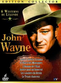 Coffret john wayne - 6 dvd