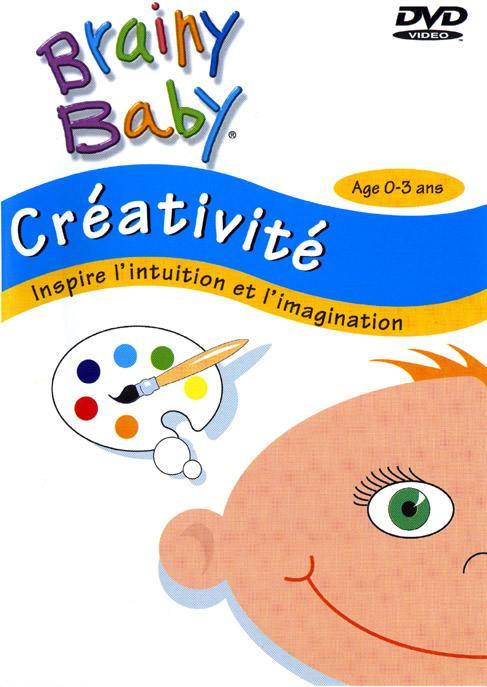 Brainy baby - creativite - age 0-3 ans - dvd