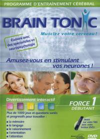 Brain tonic force 1 deb - dvd