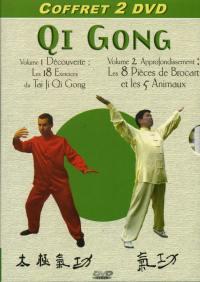 Coffret qi gong - dvd+cd