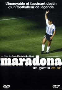 Maradona un gamin en or - dvd