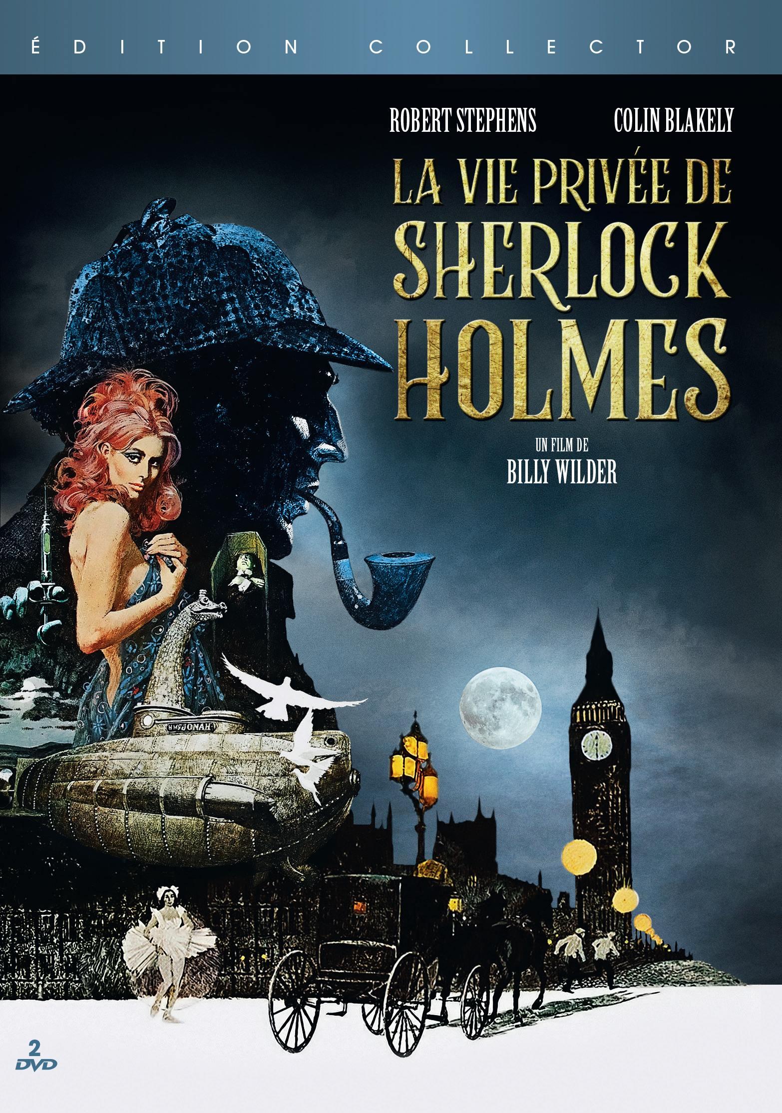 Vie privee de sherlock holmes (la) - 2 dvd