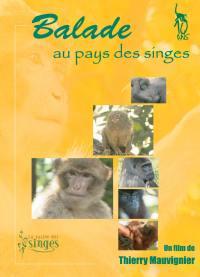 Balade au pays des singes- dvd
