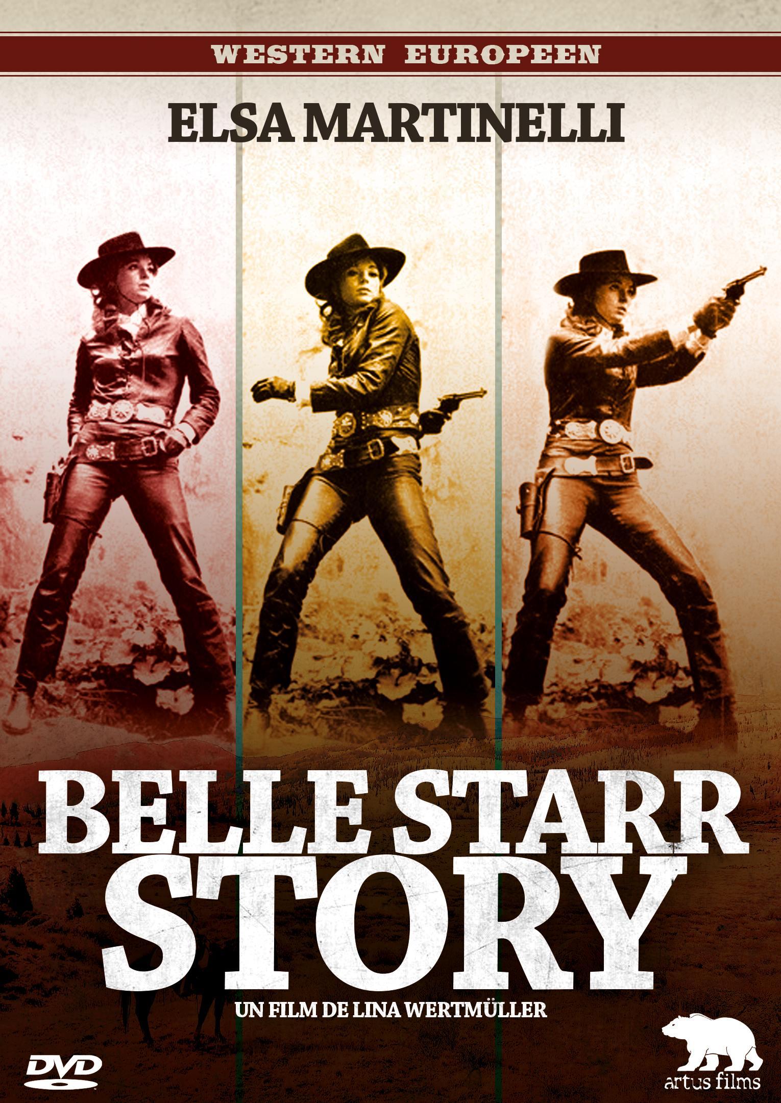 Belle starr story - dvd