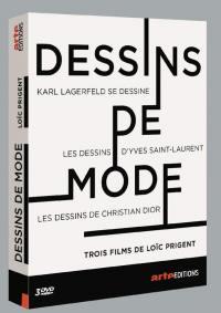 Dessins de mode - 3 dvd