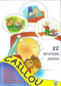 Caillou et 22 merveilleuses aventures - dvd
