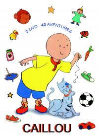 Caillou 43 aventures - 2 dvd