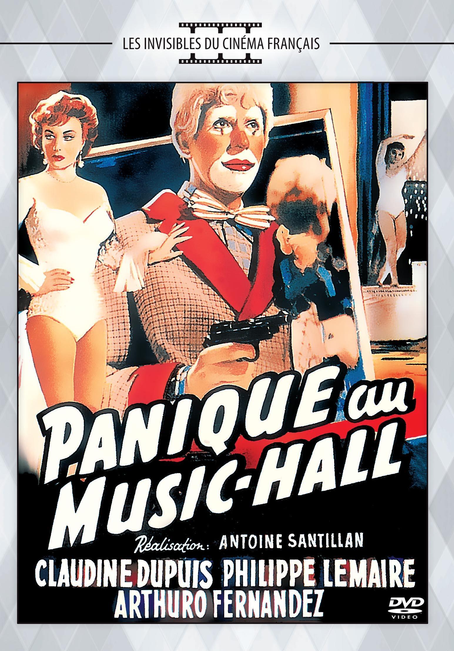 Panique au music-hall - dvd