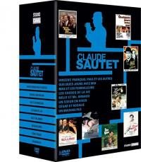 Claude sautet - coffret 8 films - dvd