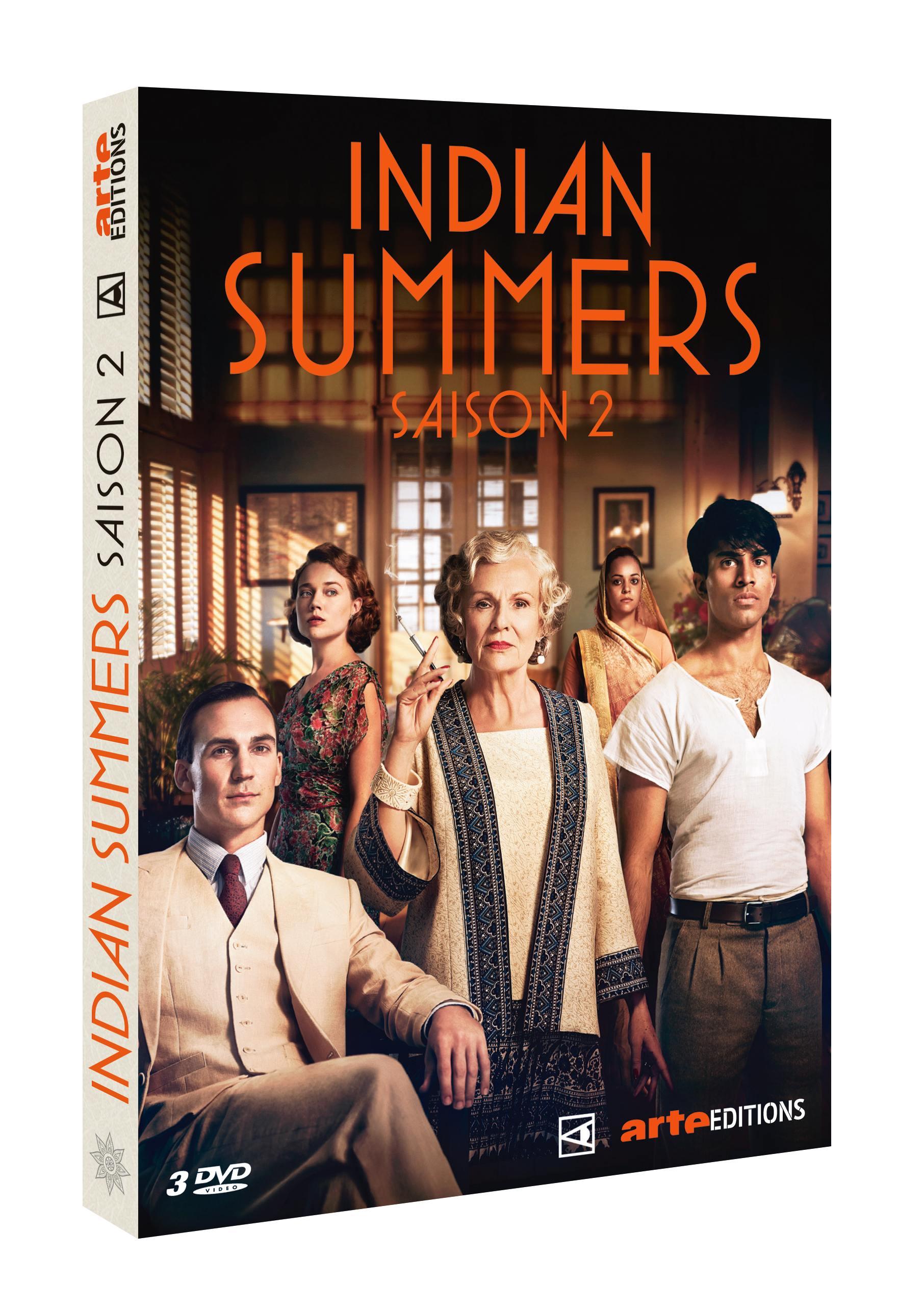 Indian summers saison 2 - 4 dvd