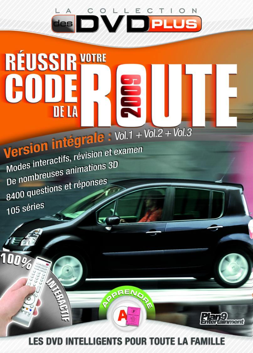Coffret reussir son code -3dvdcode de la route
