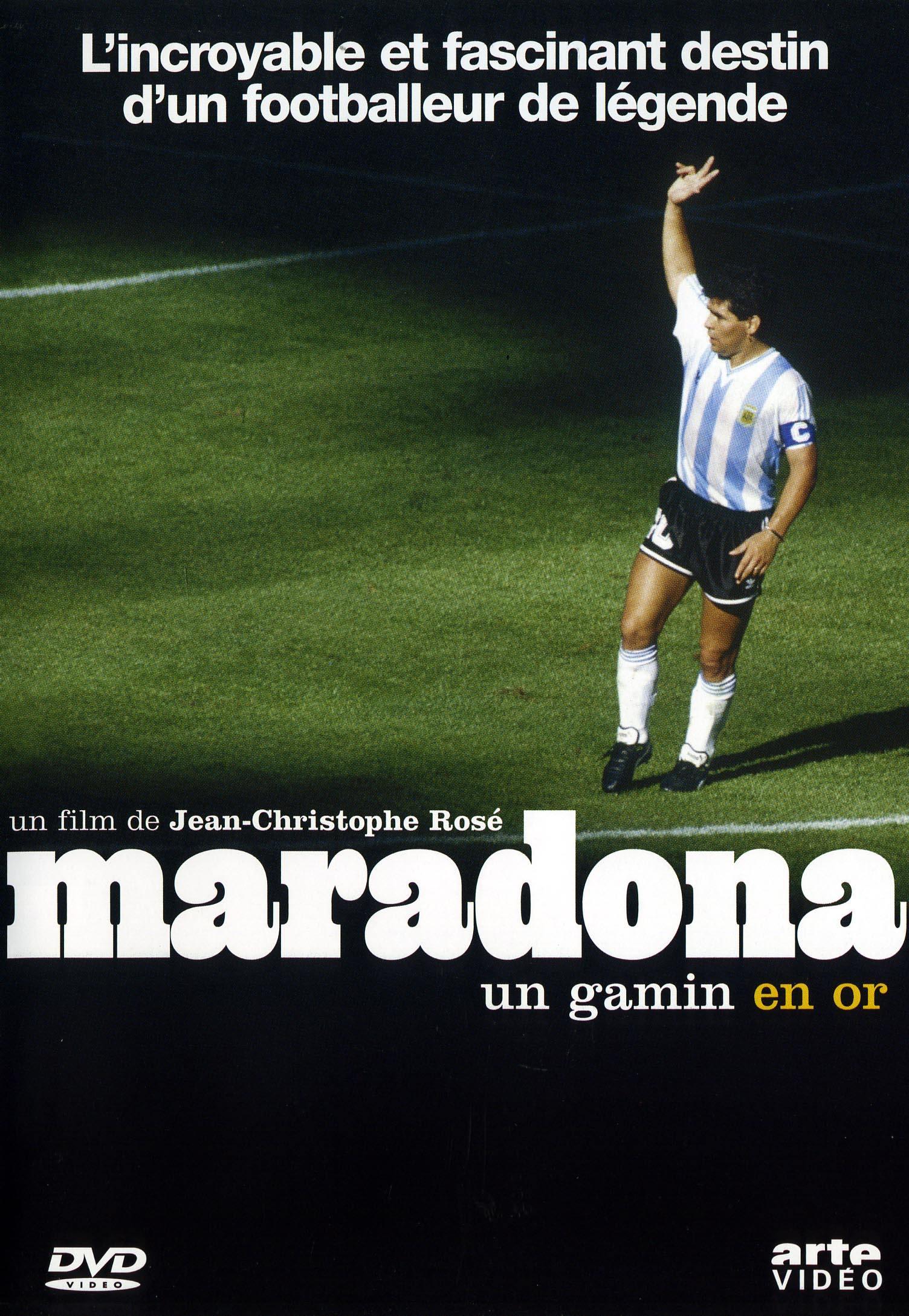 Maradona, un gamin en or - dvd