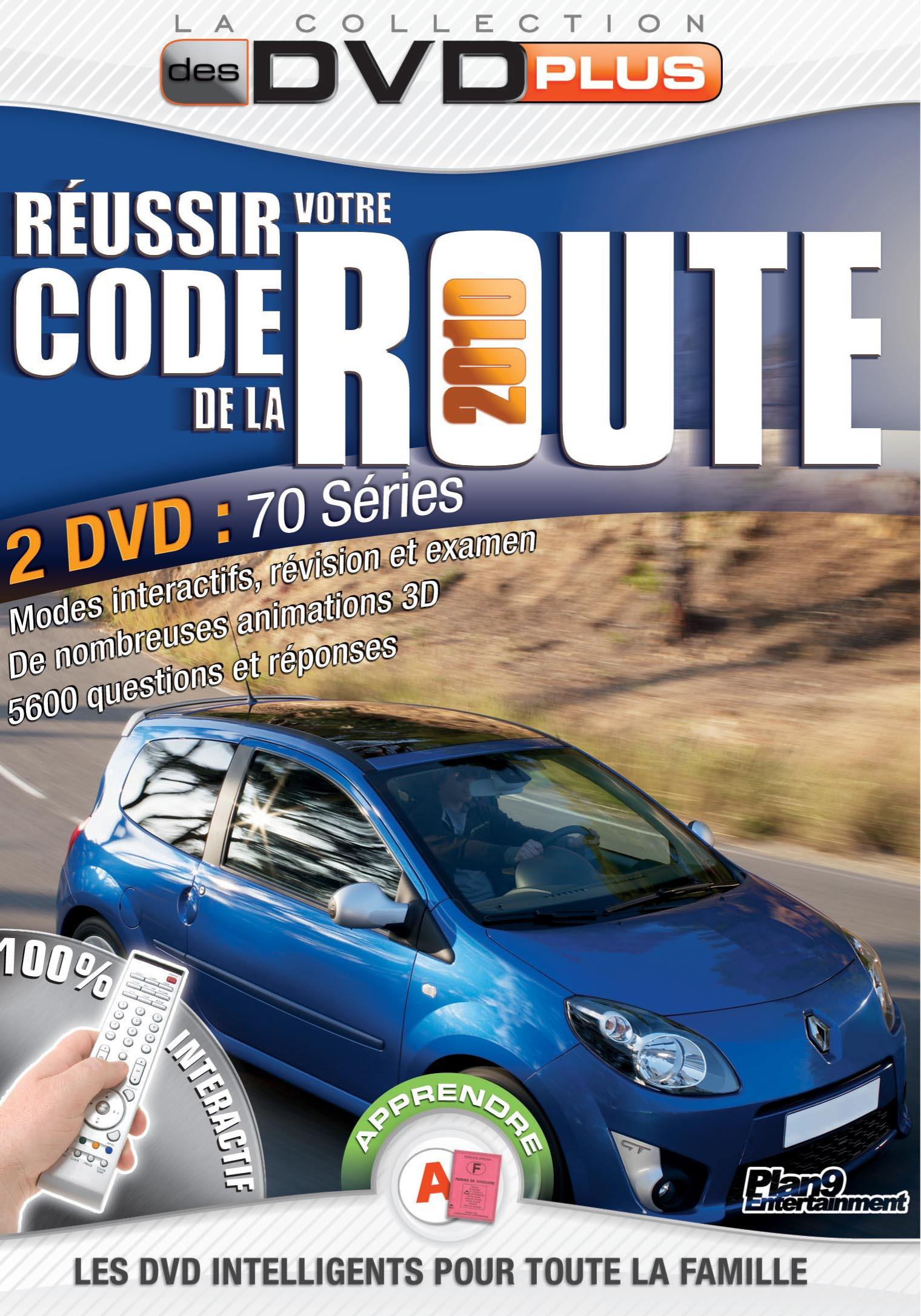 Code la route 2010 - 2 dvd