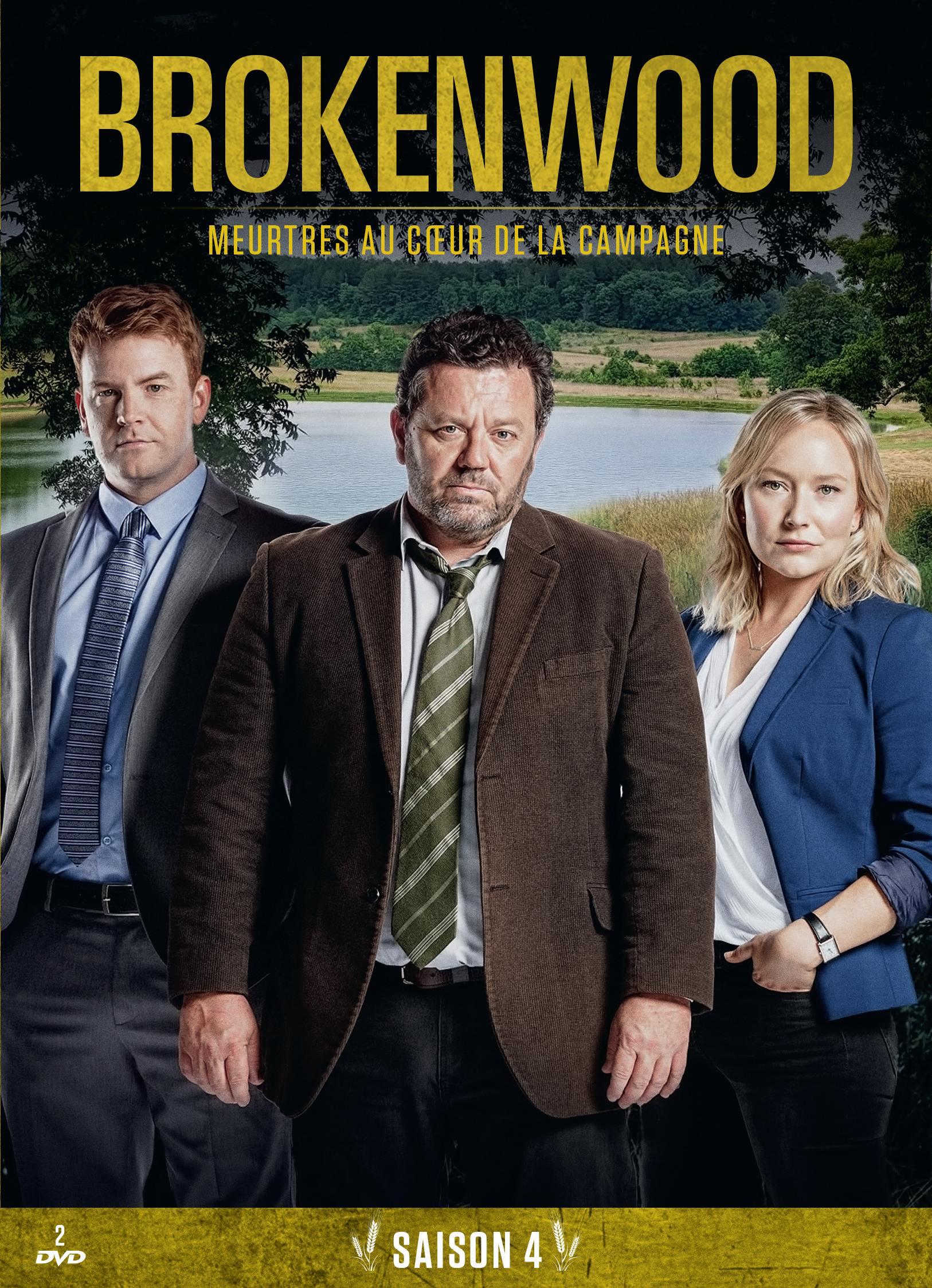 Brokenwood s4 sans fourreau - 2 dvd