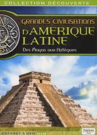Civilisations d'amerique -5dvd  latine