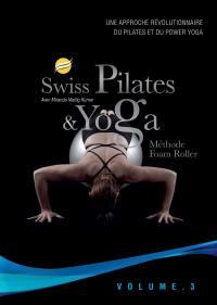 Swiss pilates & yoga methode foam roller v3 - dvd