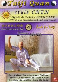 Taiji quan style chen troisieme serie vol4 - dvd