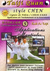 Taiji quan style chen applications martiales vol5 - dvd