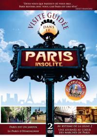 Paris insolite - 2 dvd