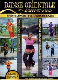 Coffret danse orientale tremblements et percussions-2dvd