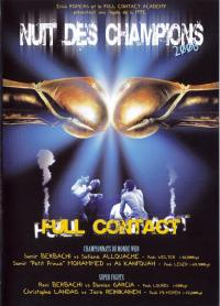 Nuit des champions 2006 - dvd  full contact