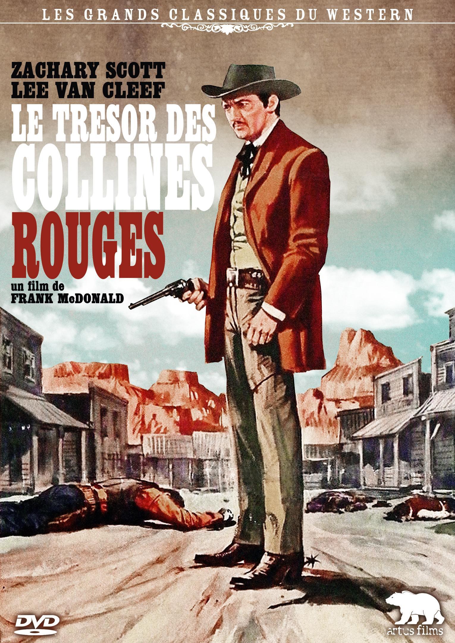 Tresor des collines rouges (le) - dvd