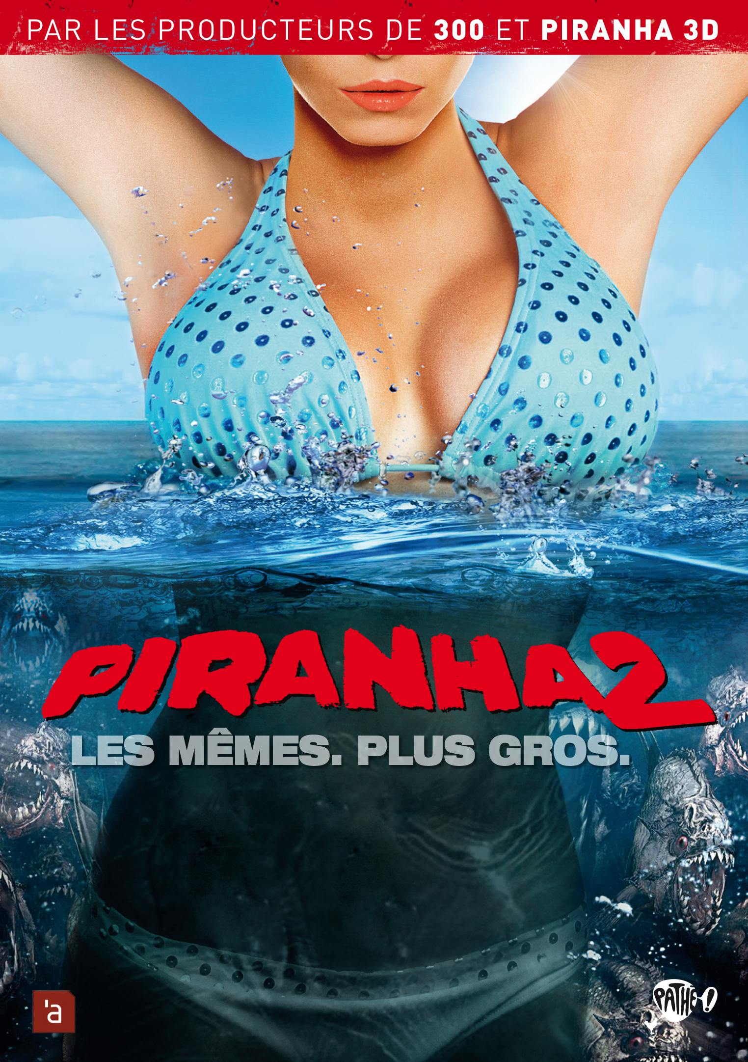 Piranha 2 - dvd