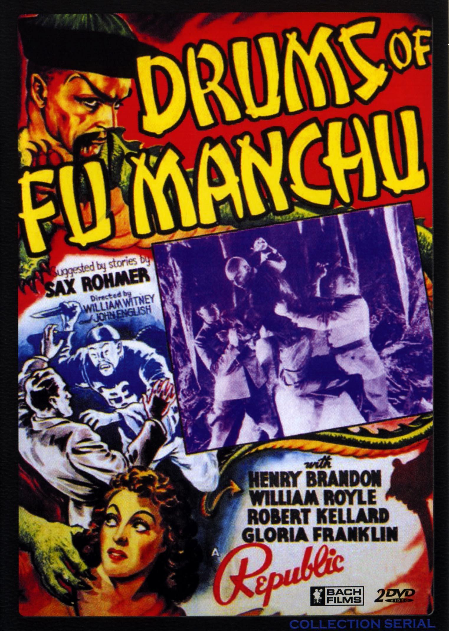 Les tambours de fu manchu-2dvd  collection serial