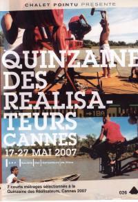 Quinzaine realisateurs 2007...  ... - dvd