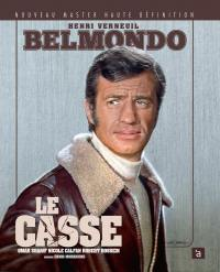 Jean-paul belmondo - le casse - 2 blu-ray+dvd+livret