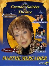 Coffret marthe mercadier2-3dvd  les grandes soirees du theatre