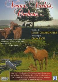 Veaux vaches & cochons - dvd  animaux de la ferme