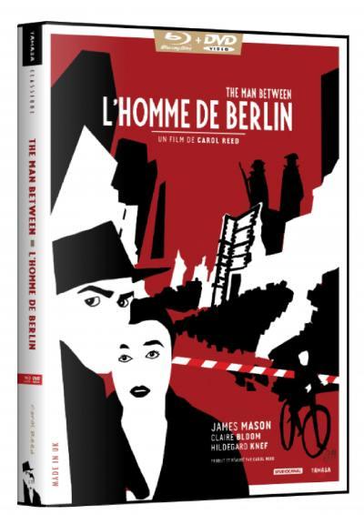 Homme de berlin (l') - the man between - combo dvd + brd+ livret