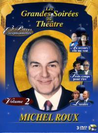 Coffret michel roux 2 - 3 dvd  les grandes soirees du theatre