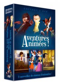 Aventures animees - 3 dvd