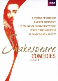 Coffret shakespeare comedies vol 1 - 5 dvd