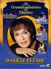 Coffret daniele evenou - 3 dvd  les grandes soirees du theatre