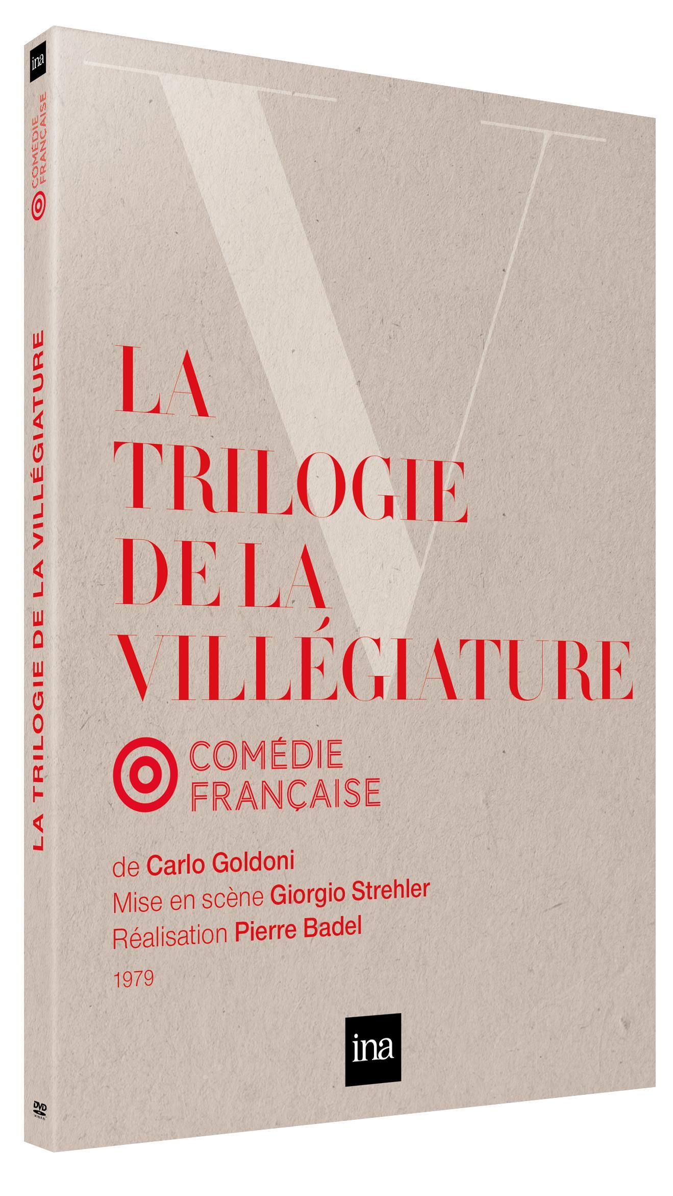 Trilogie de la villegiature (la) - dvd