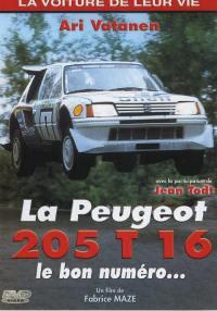 205 turbo 16 - dvd