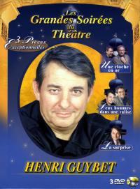 Coffret henri guybet - 3 dvd  les grandes soirees du theatre