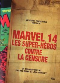 Marvel 14: supers heros - dvdsuper heros contre censure