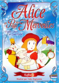 Alice au pays des merveilles - 5 dvd