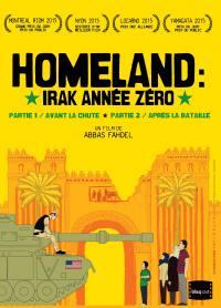 Homeland, irak annee zero - partie 1 et 2 - dvd