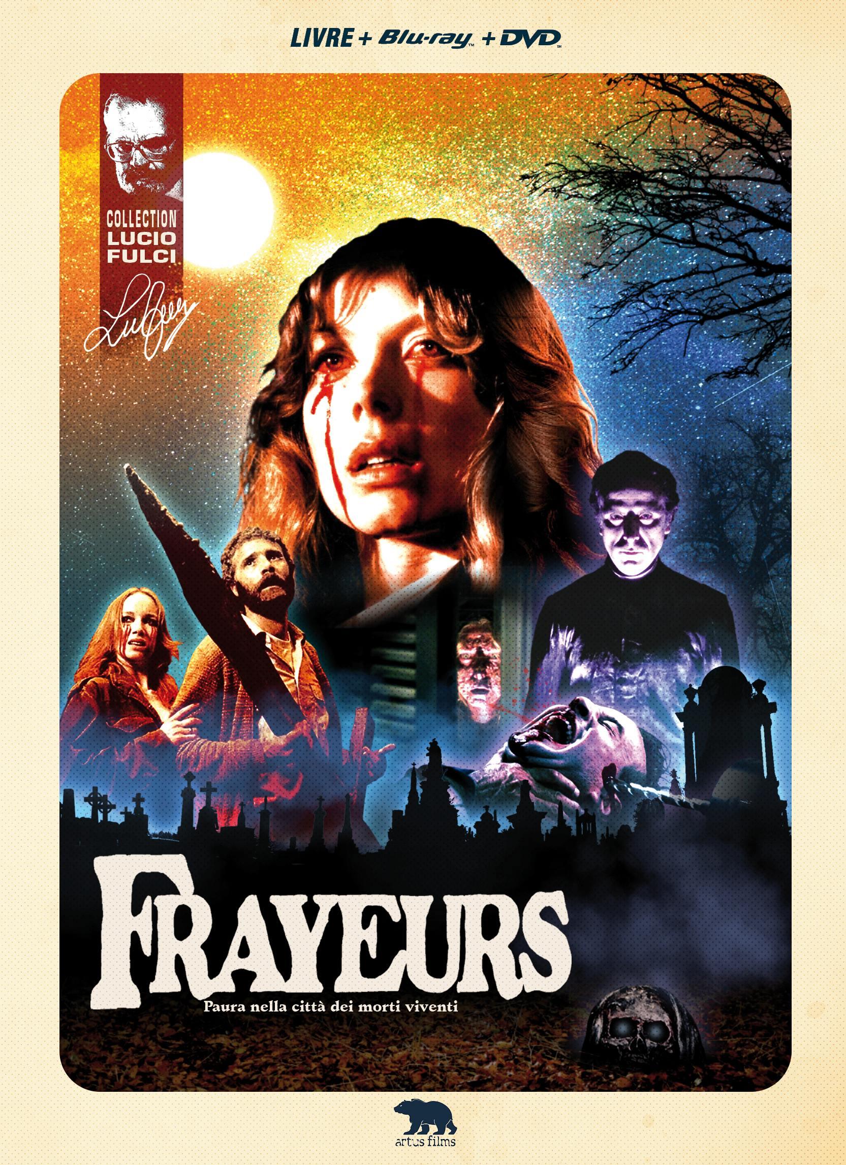 Frayeurs -  blu-ray + dvd + livre