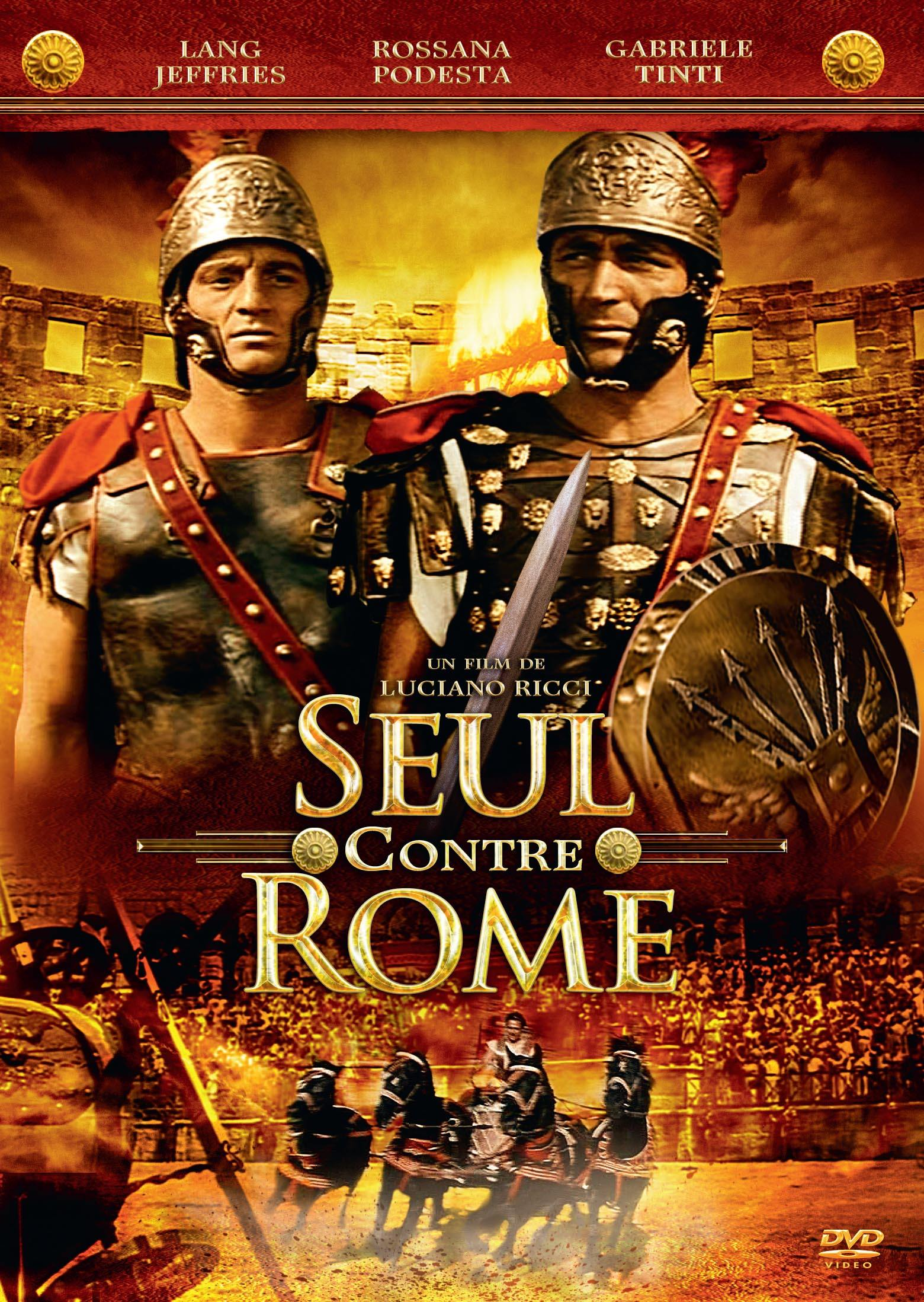 Seul contre rome - dvd