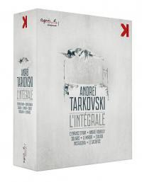 Andrei tarkovski integrale version restauree - 7 blu-ray + 2 dvd