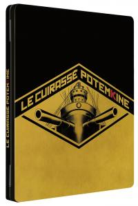 Cuirasse potemkine (le) - version restauree - combo - collector blu-ray + 2 dvd