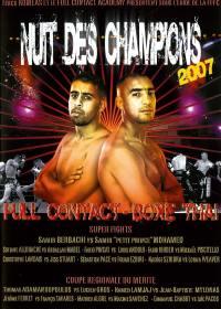Nuit des champions 2007 - dvd