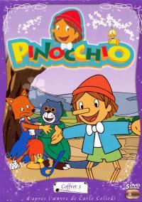 Coffret pinocchio 3 - 5 dvd