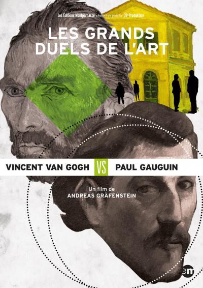 Grands duels de l'art: vincent van gogh vs paul gauguin (les) - dvd